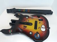 Guitar Hero Red Octane Sunburst Wireless Controller PS2 95449.805 Untested