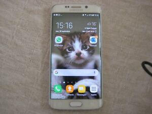 Samsung Galaxy S6 Edge - SM-G925F - 32 Go - Blanc (Désimlocké)