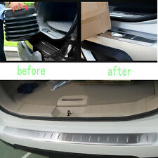 Silver Car Rear Bumper Guard Protector Cover Protection Trim For Nissan Rogue