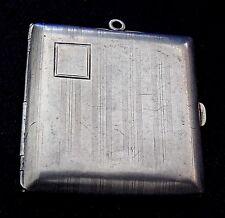 DESIGNER STERLING Domed Engraved MANUFACTURED Vintage PHOTOS LOCKET PENDANT