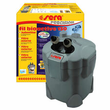 sera Außenfilter fil bioactive 130 incl Filtermaterial Siporax Filterstarter