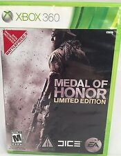 Medal of Honor Limited Edition (Microsoft Xbox 360 2010) Complete Free Shipping