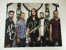 MAYDAY PARADE AUTOGRAPHED SIGNED PHOTO WITH SIGNING PICTURE PROOF