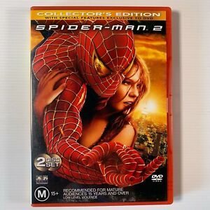 Spiderman 2 2004 James Franco Tobey Maguire 2 disc DVD Region 4