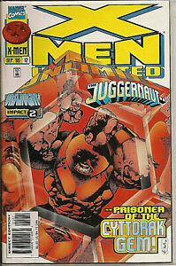 °X-MEN UNLIMITED #12: THE JURGGENAUT° US Marvel 1996 Onslaught Impact 2