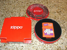 Zippo Lighter Millennium Series FACT The 20th Century is gone GET OVER IT! 1999