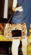 Brand New JIMMY CHOO Leopard Print  Kid Hair /Wild Cat Bag(the bag of a year)