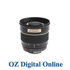 New Samyang 85mm f/1.4 Aspherical IF for Nikon Mt +Hood