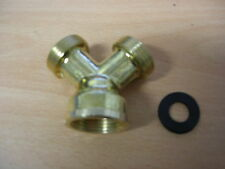 WASHING MACHINE Y PIECE BRASS