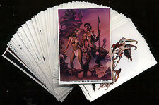 BORIS VALLEJO - Stickers - 50 Card Art Set - FREE US Priority Mail Shipping