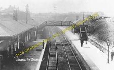 Preston Road Railway Station Photo. Liverpool - Fazakerley and Kirkby Line. (1)