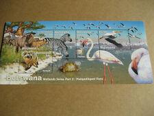Botswana 2005 Wetlands Serie Teil 3-makgadikgadi Pfannen Kleinbogen