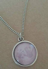 Necklace & pendant charm handprint footprint photo necklace gift art work xmas