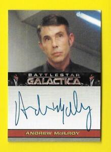 2009 Battlestar Galactica Season 4 Autograph Andrew McIlroy as Jacob Cantrell