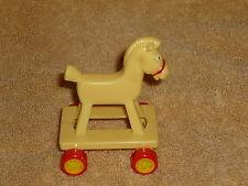 McDonalds Dollhouse Nursery Baby Rolling Toy Horse