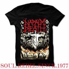 NAPALM DEATH PUNK ROCK HEAVY METAL T SHIRT MEN'S SIZES
