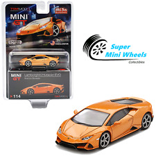 Mini GT 1:64 Lamborghini Huracan EVO Arancio Borealis (Orange) #114