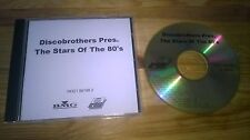 CD pop discobrothers-pres.: the stars of the 80's (13 chanson) promo BMG Ariola