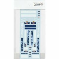 Museum Collection 1/18 Williams FW16 Rothmans Decal for Minichamps D358