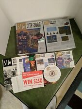 PC Game SimCity 2000 Special Edition Complete Big Box Software For MS-Dos Win 95