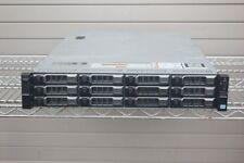 Dell Poweredge R720XD 2 X EIGHT CORE 2.60GHZ E5-2670 128GB 12 x 2TB SAS 24TB QTY