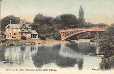 BR94020 the iron bridge view near eaton hall chester  uk