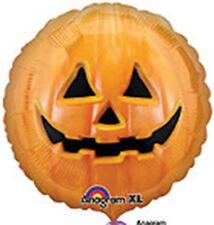 By Broward Balloons Halloween Pumpkin Jack O Lantern 18 Inch Foil Balloon (2)