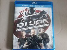 G.I. Joe: Retaliation Blu-Ray, 2013, Extended Action Cut Papers, Vary Rare