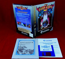 Amiga: King 's quest 3 III: to réserve is Human Grey Box première édition-sierra 1987