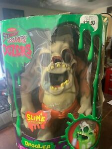 Halloween 1990's Electronic Stretch screamers Oozers doll working in box