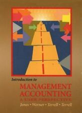 Introduction to Management Accounting and EBiz Package, Kumen H. Jones, Michael