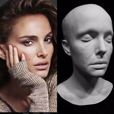 "Natalie Portman Life Mask Cast Queen Amidala""Star Wars""Black Swan"" Actress !!!"