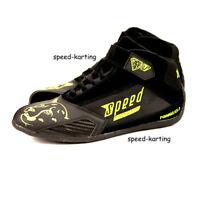 """Speed Kartschuhe """"Torino"""" - Schwarz/Neon-Gelb Speed Racewear Aktuelles Modell"""
