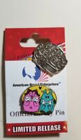 "Disney Pins Hidden Mickey 2019 ""Duos"" PAIN & PANIC - JAC & GUS CHASER TRADED"