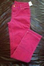 Ralph Lauren Girls 14 Hot Pink Corduroy Wide Leg Pants Trousers Jeans