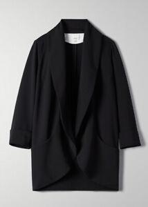 Limited edition wilfred chevalier blazer crepe 0 XS Aritzia