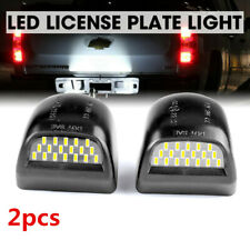 LED License Plate Light Lamp For Chevy Tahoe Suburban GMC Sierra Yukon Cadillac
