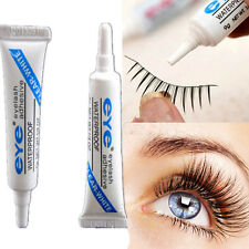 1PC Clear White Waterproof False Eyelashes Makeup Adhesive Eye Lash Glue New