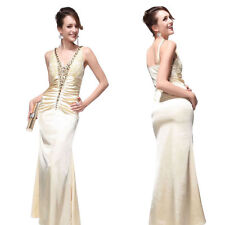 Ever-Pretty V Neck Full Length Dresses for Women