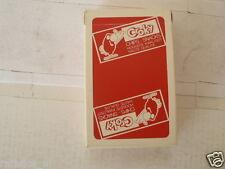 CROKY CHIPS SNACKS SPEELKAARTEN PLAYING CARDS COMPLETE SET