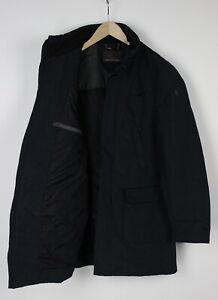 TRUSSARDI Men (IT) 50 or ~MEDIUM Rigid Padded Wool Blend Lined Jacket 31831-GS