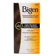 Hoyu Bigen Permanent Powder Hair Color Gray Coverage 0.21oz #46 Light Chestnut