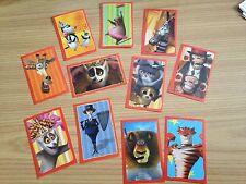 Adesivi stickers figurine MADAGASCAR 3 Panini