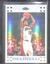 2007-08 Topps Chrome Basketball White Refractor Rookie #133 Marco Belinelli