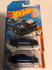 Hot Wheels Lot Of 2 2020 Ford Mustang Shelby Gt500