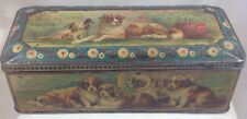 MCVITE & PRICE   DOGS & PUPPIES  BRITISH BISCUIT TIN  c1905