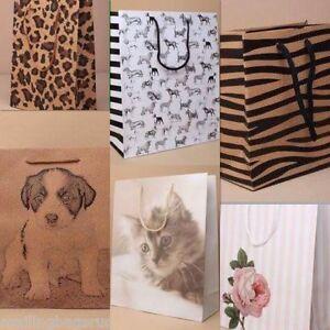 Gift Bags Animal Children Party Weddings Birthdays Births All Sizes