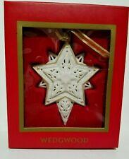 Wedgewood 2004 Star Christmas Holiday Tree Ornament Box