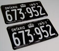 Canada Alberta Ontario SK License Plate RESTORATION SERVICE 1914 1929 1951 1968