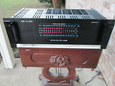 SAE 2200 stereo AMPLIFIER Great shape with Rack Handles No reserve!